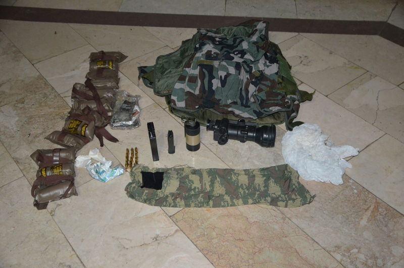 Otel baskınındaki silahlar bulundu! 24