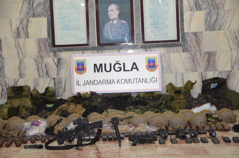 Otel baskınındaki silahlar bulundu! 29