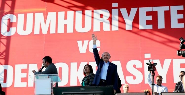 Taksim'de demokrasi mitingi 17