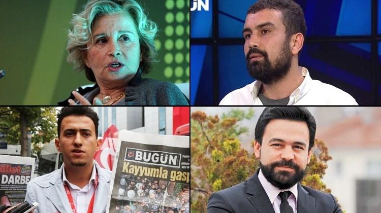 Gözaltı kararı çıkarılan gazeteciler 1
