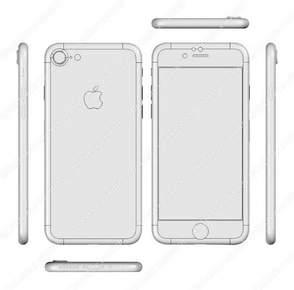 İşte iPhone 7 böyle olacak! 11