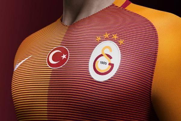 Galatasaray'ın yeni formaları tanıtıldı 1