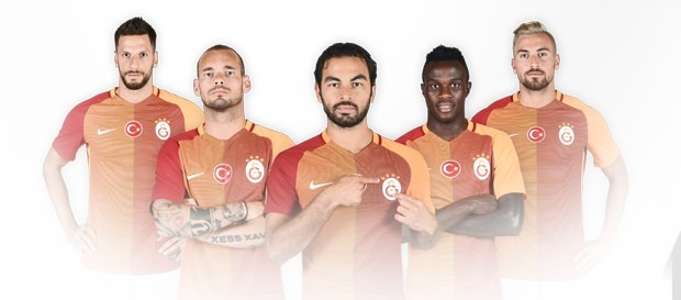 Galatasaray'ın yeni formaları tanıtıldı 14
