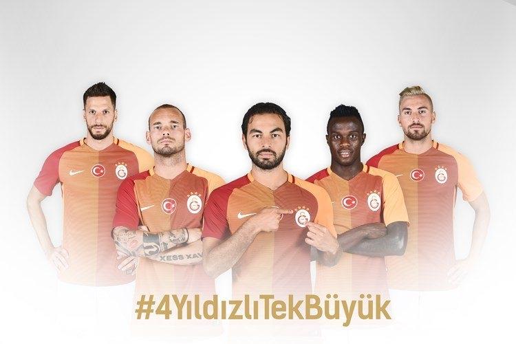 Galatasaray'ın yeni formaları tanıtıldı 7