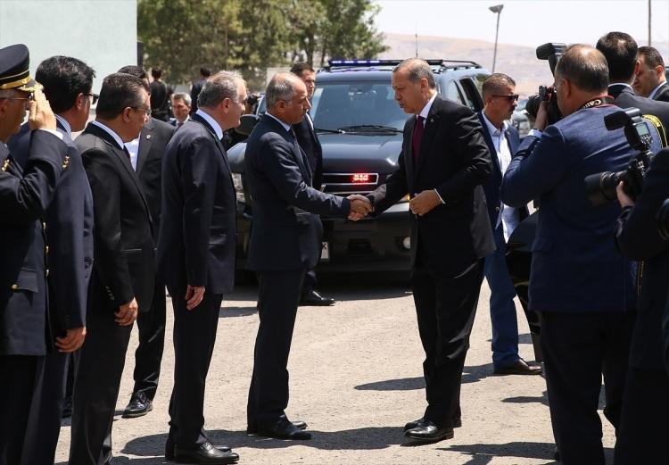 Erdoğan, Özel Harekat Daire Başkanlığı'nı ziyaret etti 10