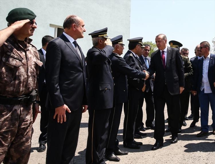 Erdoğan, Özel Harekat Daire Başkanlığı'nı ziyaret etti 11