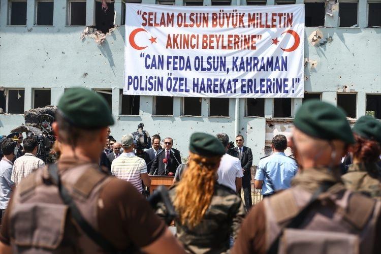 Erdoğan, Özel Harekat Daire Başkanlığı'nı ziyaret etti 23
