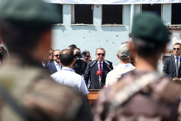 Erdoğan, Özel Harekat Daire Başkanlığı'nı ziyaret etti 24
