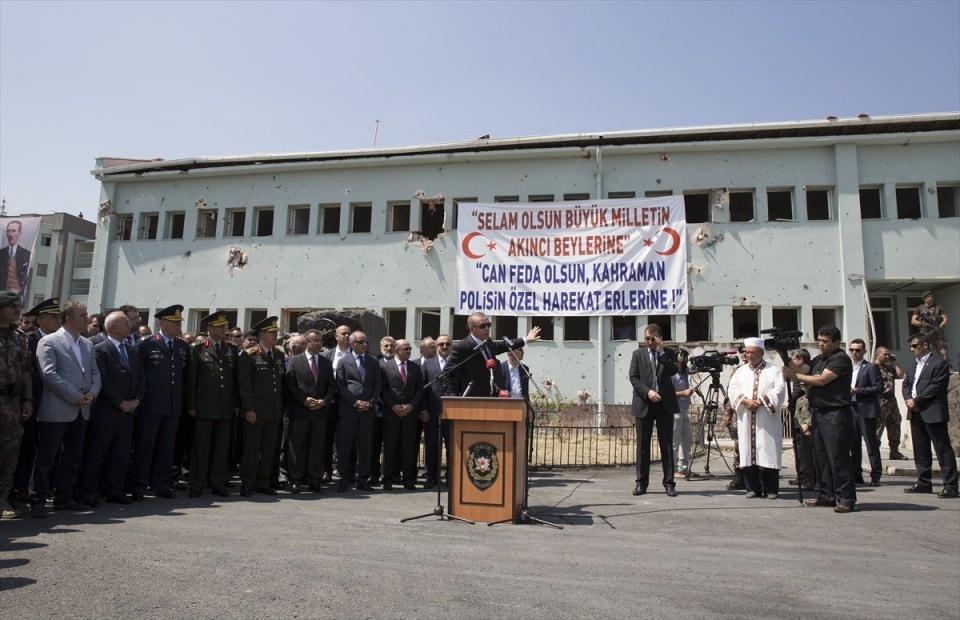 Erdoğan, Özel Harekat Daire Başkanlığı'nı ziyaret etti 3