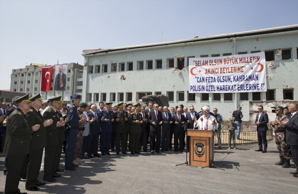 Erdoğan, Özel Harekat Daire Başkanlığı'nı ziyaret etti 4
