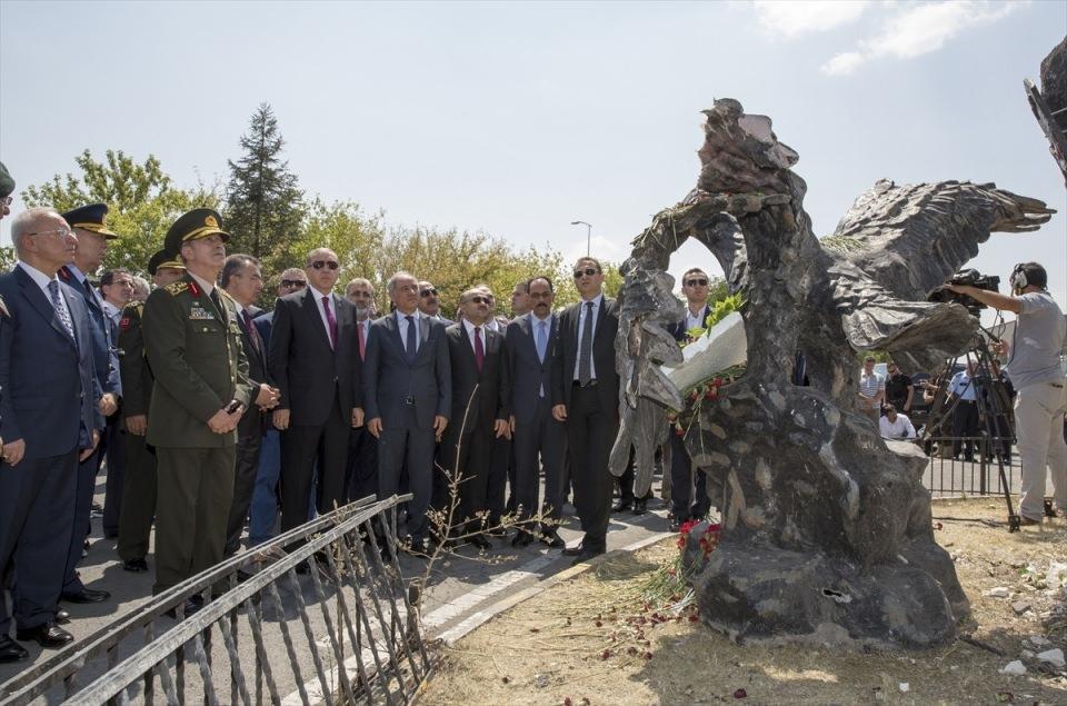 Erdoğan, Özel Harekat Daire Başkanlığı'nı ziyaret etti 5