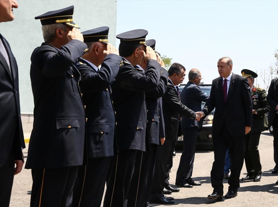 Erdoğan, Özel Harekat Daire Başkanlığı'nı ziyaret etti 8