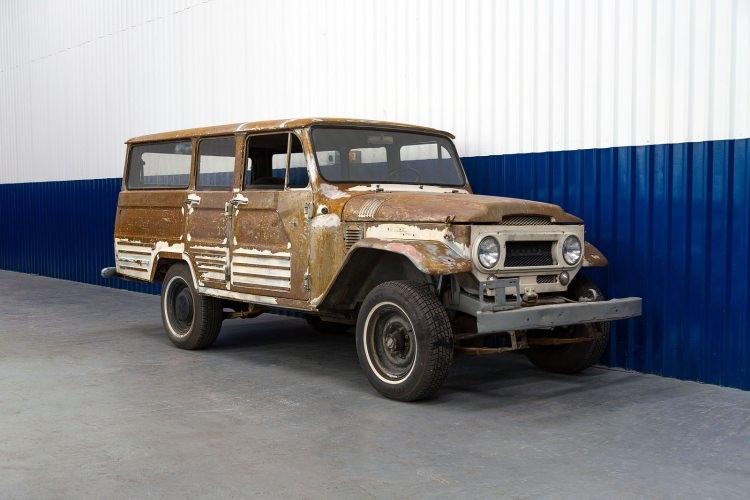 Eski Toyota Land Cruiser'ın bir de son halini görün 1