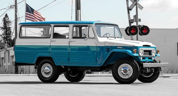 Eski Toyota Land Cruiser'ın bir de son halini görün 23