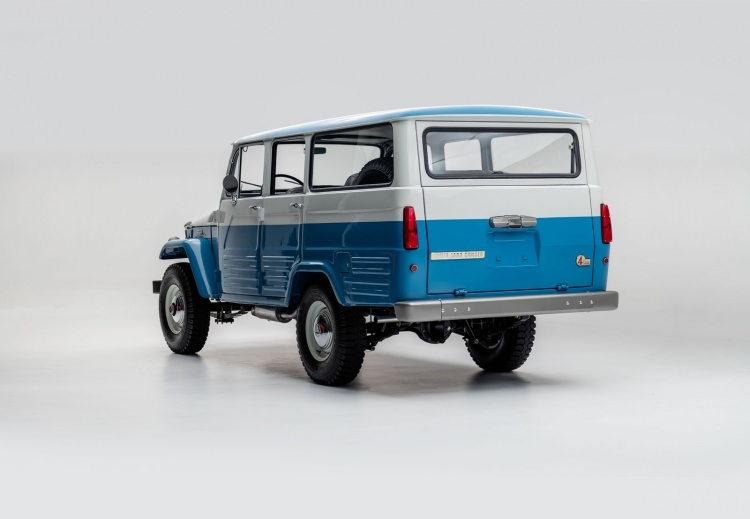 Eski Toyota Land Cruiser'ın bir de son halini görün 25