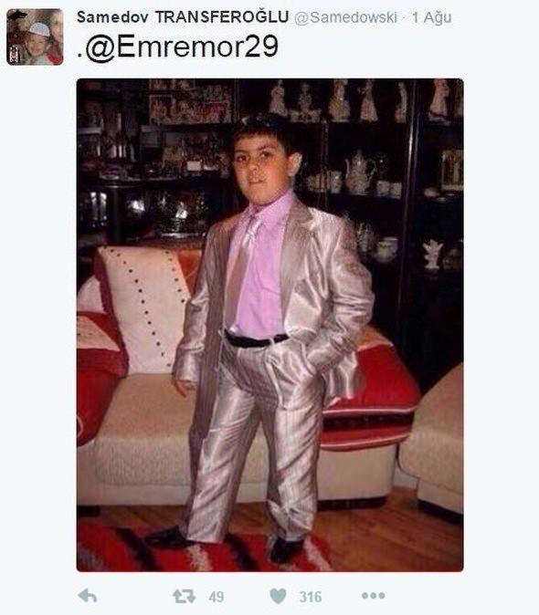 Emre Mor'un kıyafeti sosyal medyayı salladı! 5