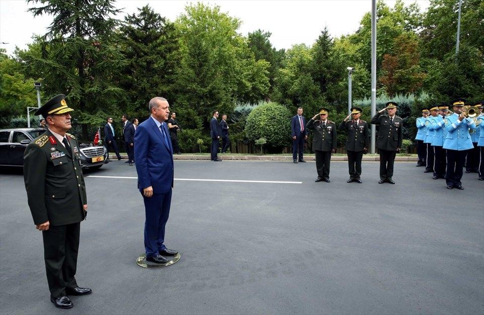 Cumhurbaşkanı Erdoğan, Genelkurmay karargahında 11