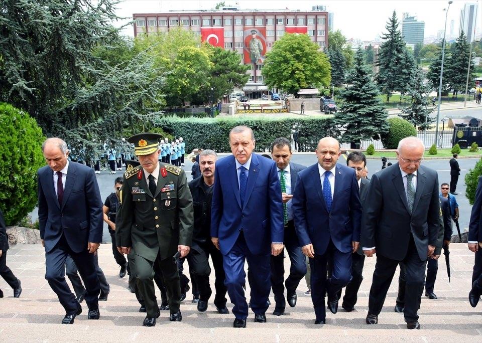 Cumhurbaşkanı Erdoğan, Genelkurmay karargahında 14