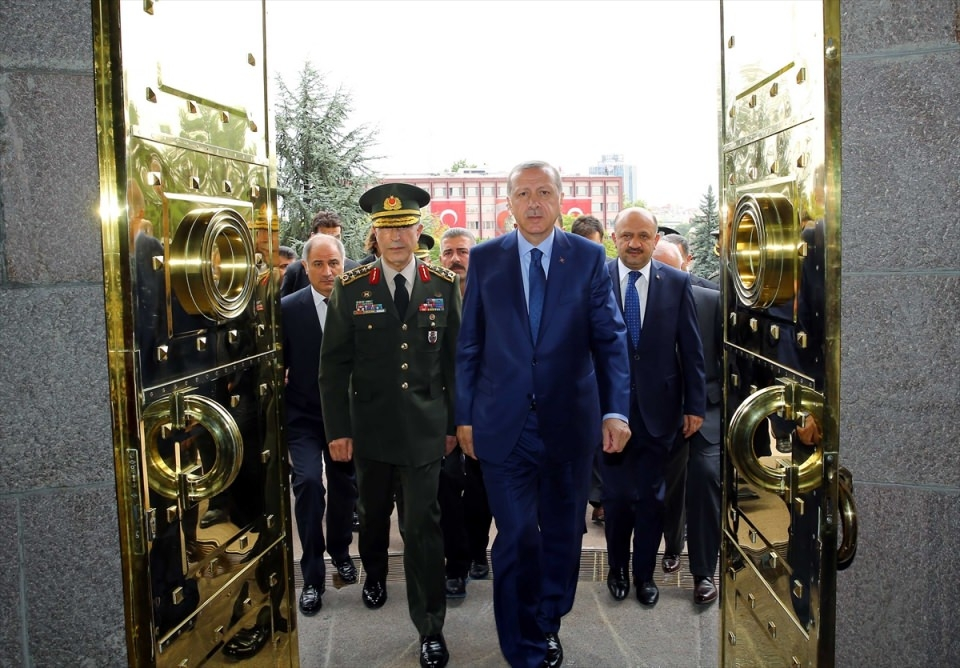 Cumhurbaşkanı Erdoğan, Genelkurmay karargahında 15