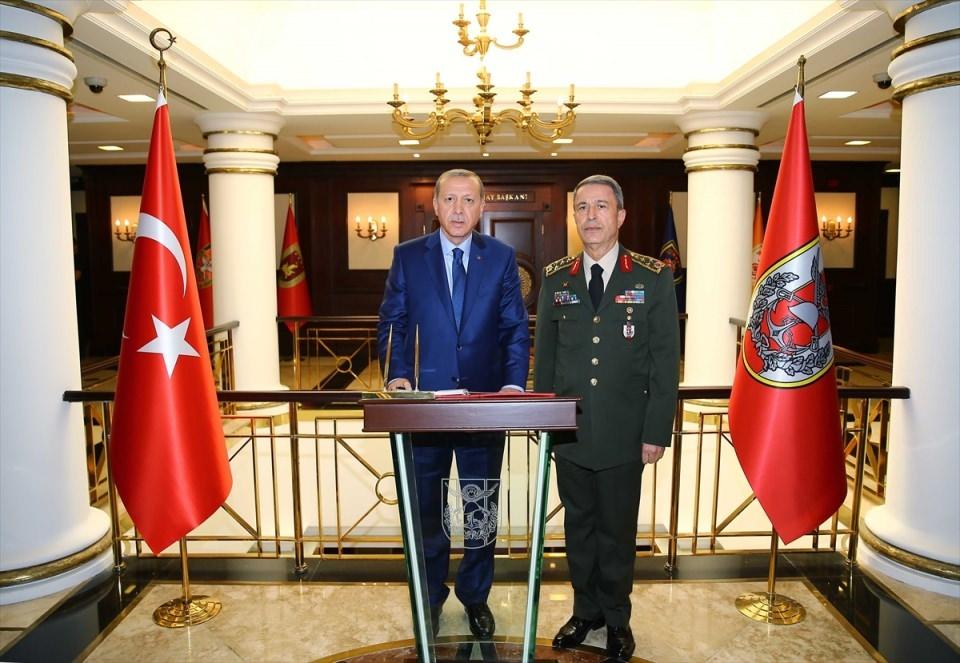 Cumhurbaşkanı Erdoğan, Genelkurmay karargahında 17