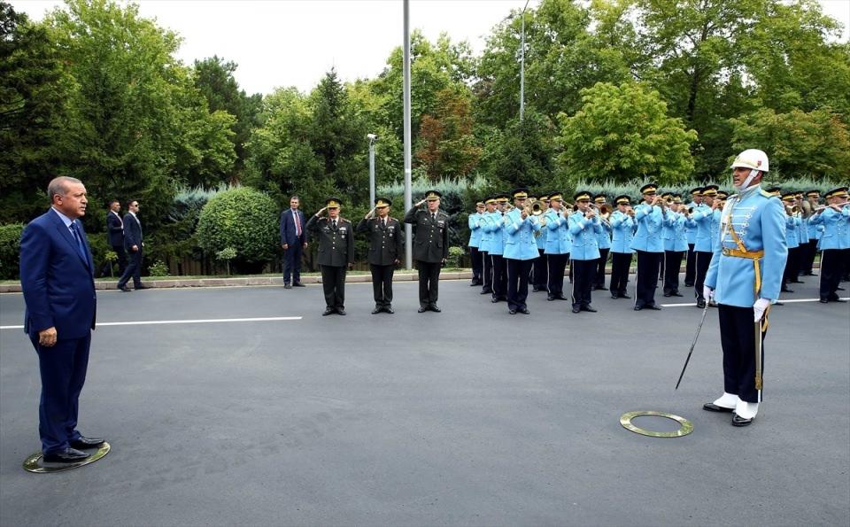 Cumhurbaşkanı Erdoğan, Genelkurmay karargahında 2
