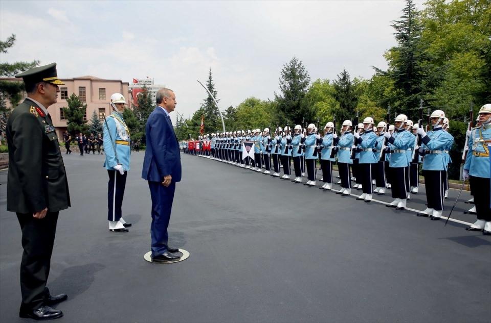 Cumhurbaşkanı Erdoğan, Genelkurmay karargahında 4