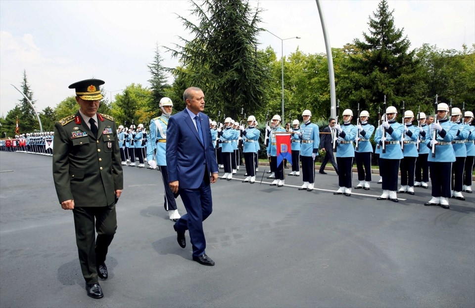 Cumhurbaşkanı Erdoğan, Genelkurmay karargahında 5