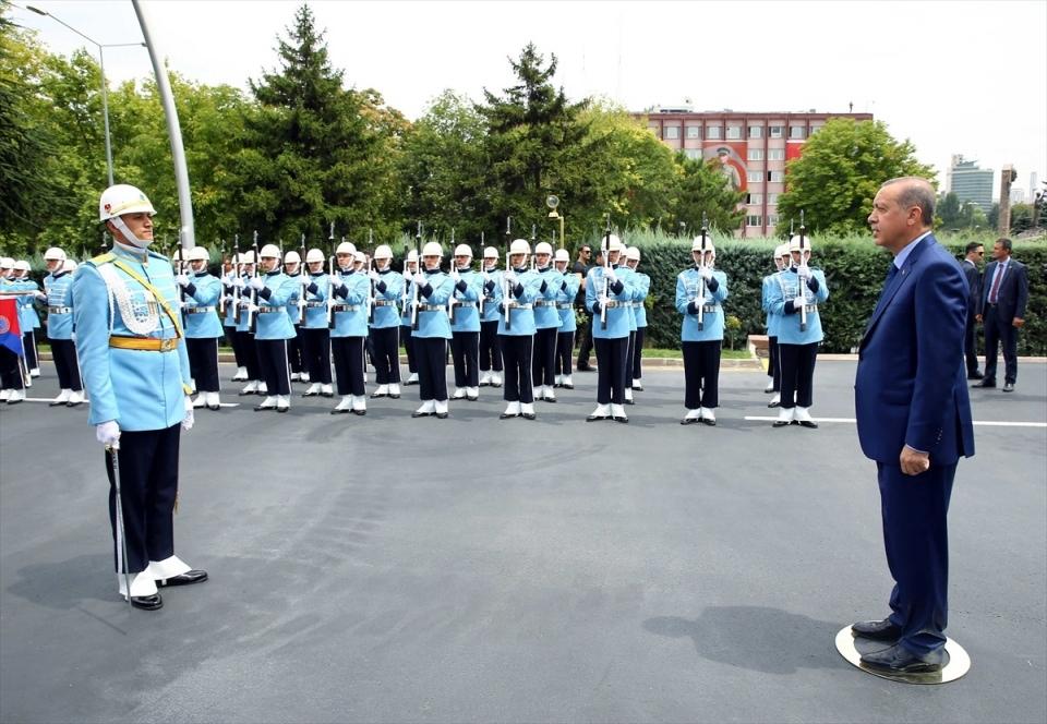 Cumhurbaşkanı Erdoğan, Genelkurmay karargahında 6