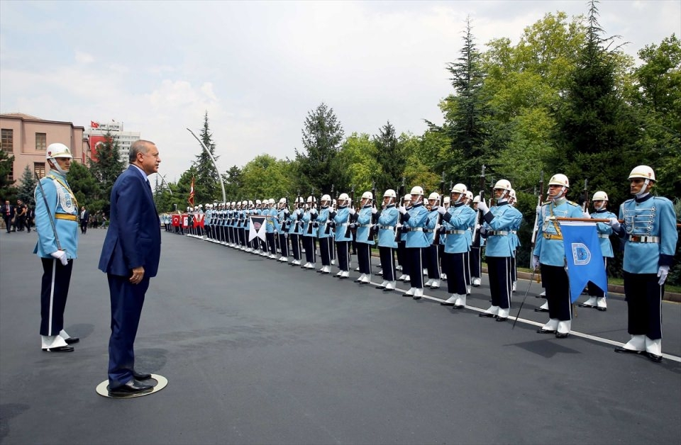Cumhurbaşkanı Erdoğan, Genelkurmay karargahında 7
