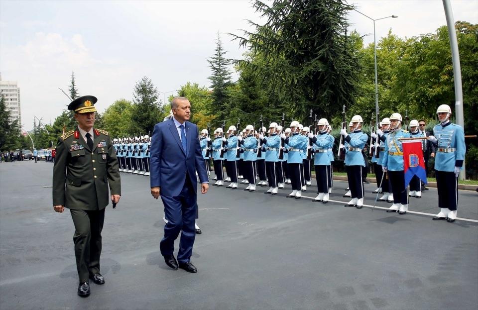 Cumhurbaşkanı Erdoğan, Genelkurmay karargahında 8