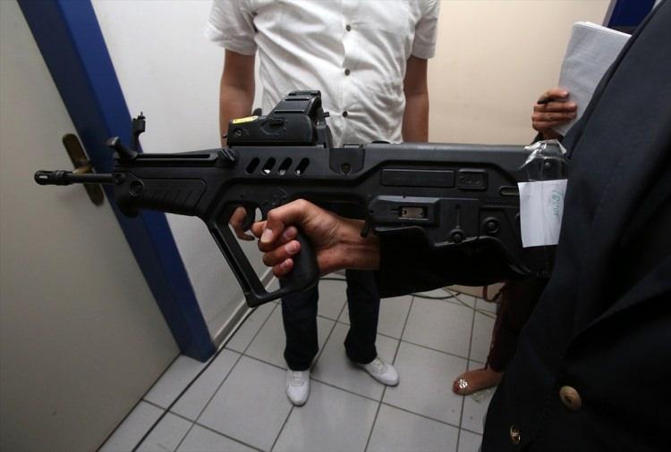 O silahlar ilk kez görüntülendi 45