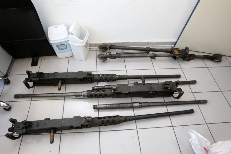 O silahlar ilk kez görüntülendi 50