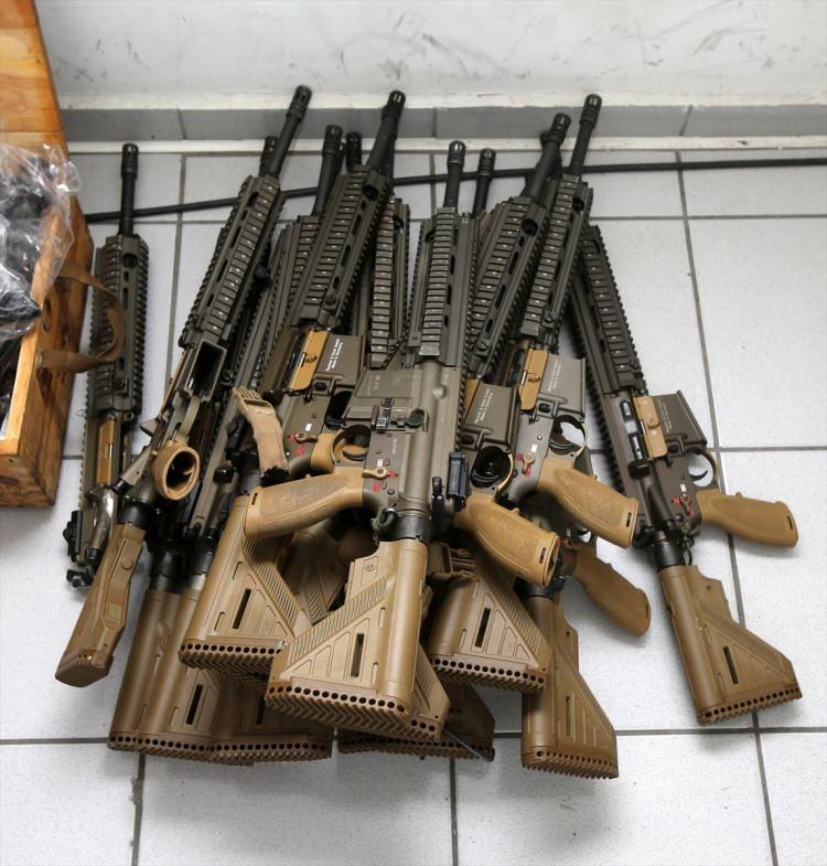 O silahlar ilk kez görüntülendi 53