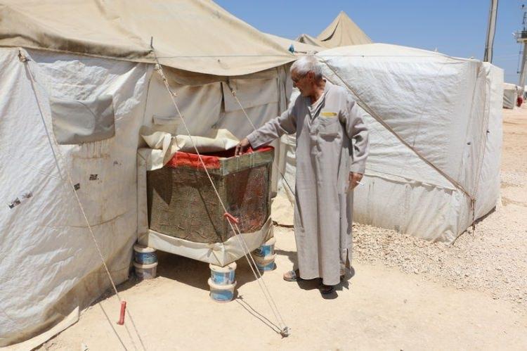 Bu da Suriyelilerin 'Vantilatör klima'sı 1