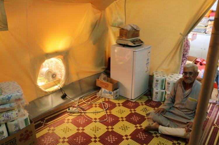 Bu da Suriyelilerin 'Vantilatör klima'sı 10