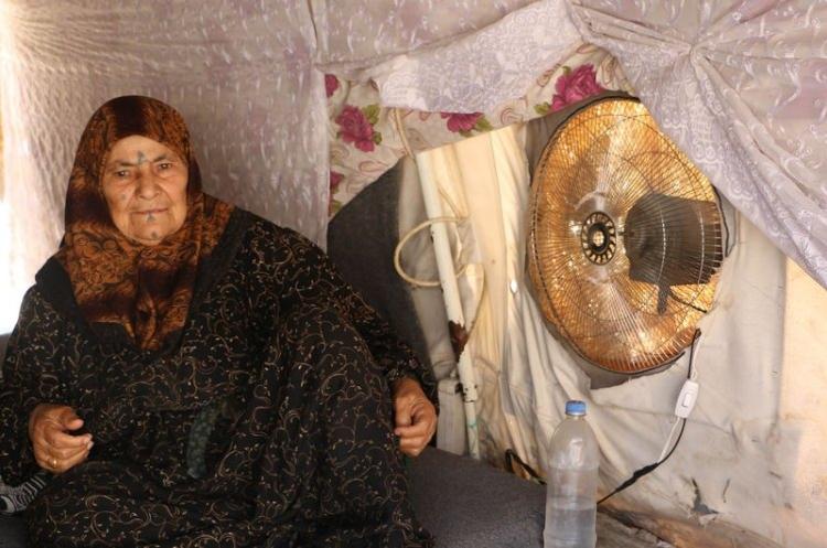 Bu da Suriyelilerin 'Vantilatör klima'sı 11