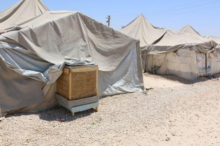 Bu da Suriyelilerin 'Vantilatör klima'sı 2