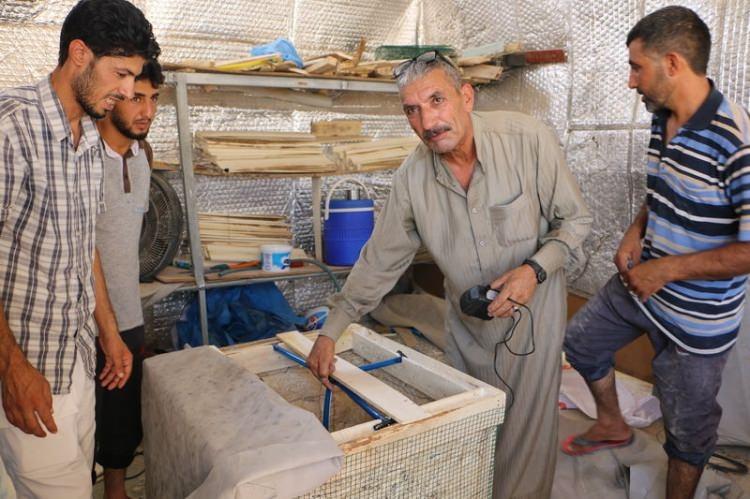 Bu da Suriyelilerin 'Vantilatör klima'sı 3