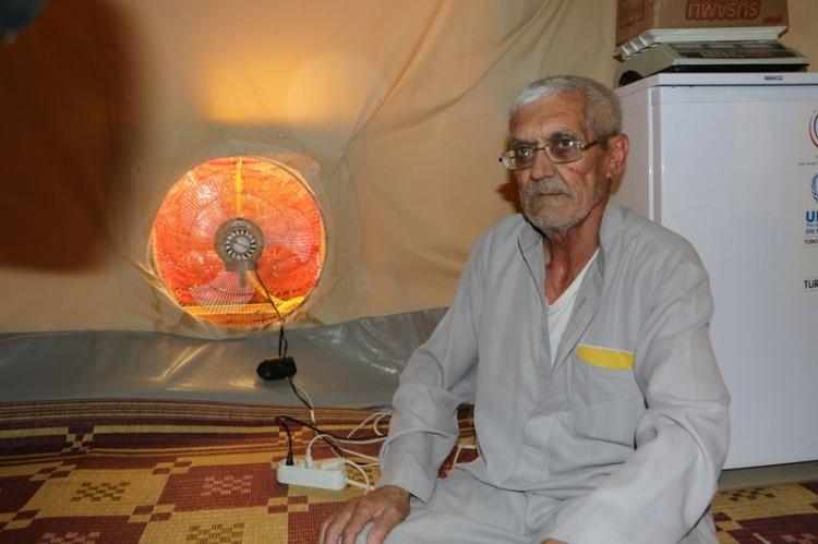 Bu da Suriyelilerin 'Vantilatör klima'sı 9