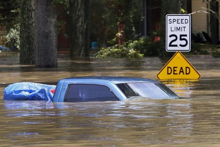 ABD'de sel: 20 bin kişi tahliye edildi 11