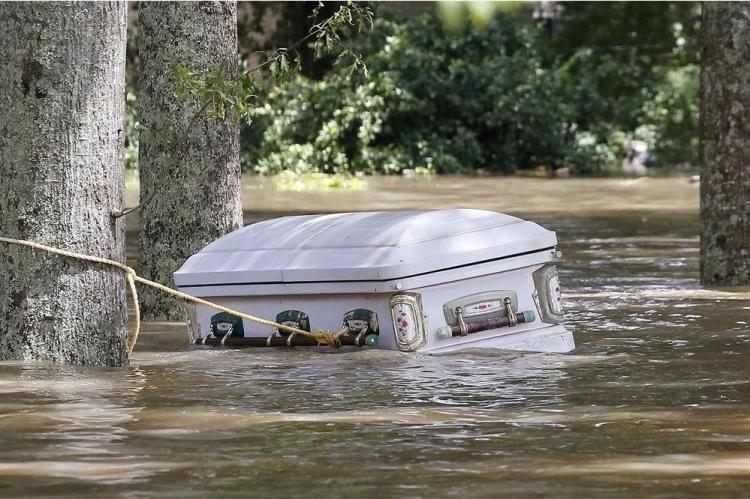 ABD'de sel: 20 bin kişi tahliye edildi 19