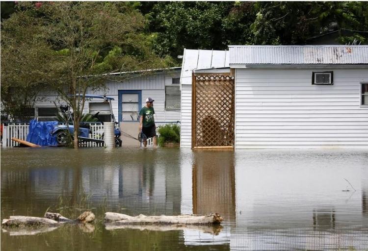 ABD'de sel: 20 bin kişi tahliye edildi 20