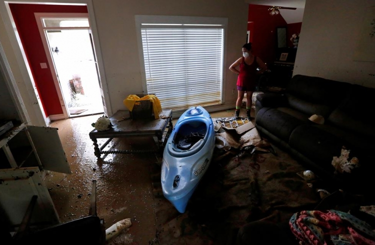 ABD'de sel: 20 bin kişi tahliye edildi 6
