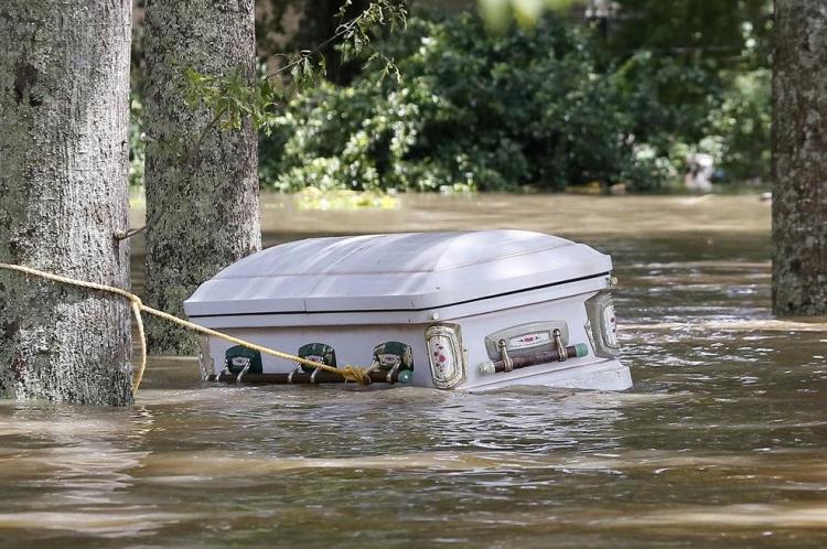 ABD'de sel: 20 bin kişi tahliye edildi 9