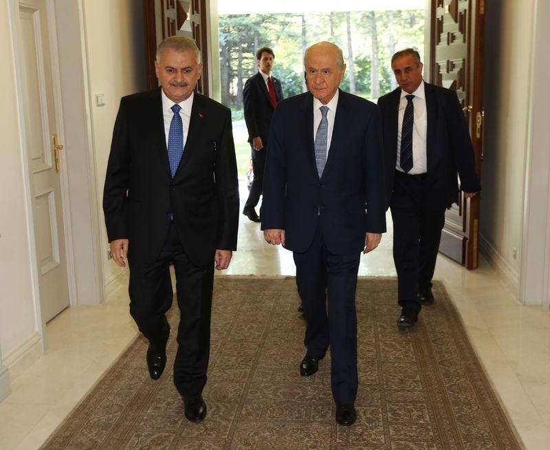 Üç lider ilk kez Çankaya'da 4