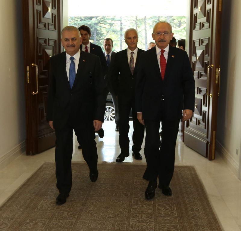 Üç lider ilk kez Çankaya'da 5