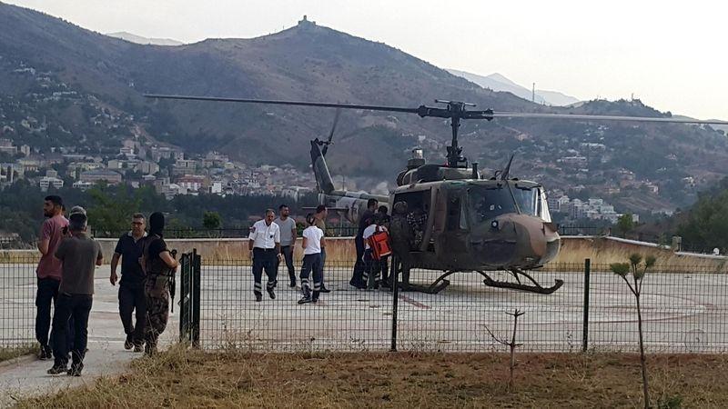 Tunceli'deki çatışmadan görüntüler 1