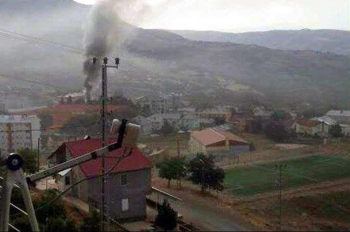 Tunceli'deki çatışmadan görüntüler 16