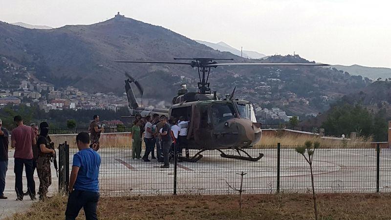Tunceli'deki çatışmadan görüntüler 21