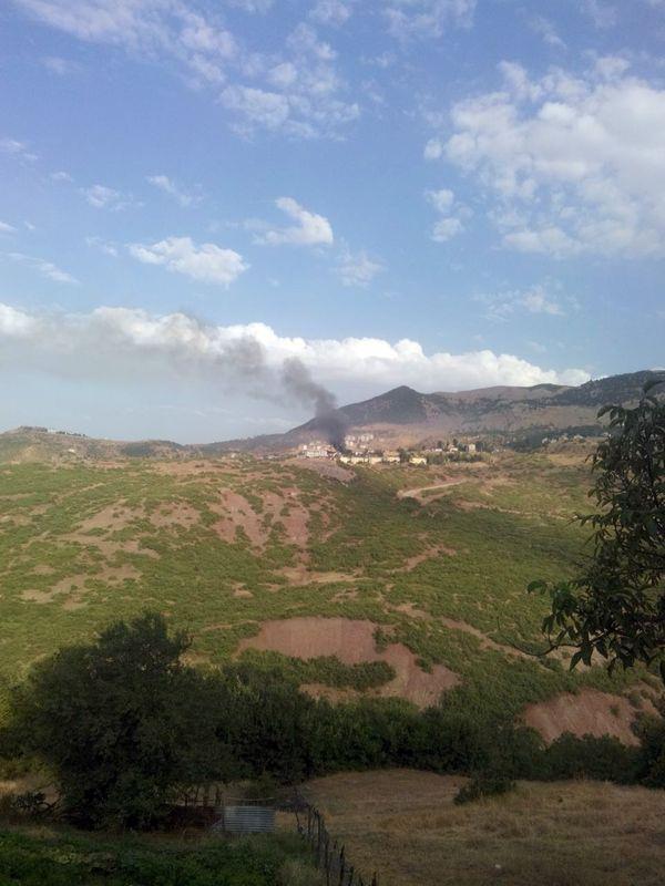 Tunceli'deki çatışmadan görüntüler 4